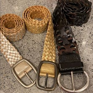 Fossil Leather Belts